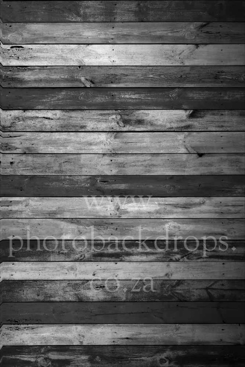 Black & White Wall or Floor Photo Backdrop