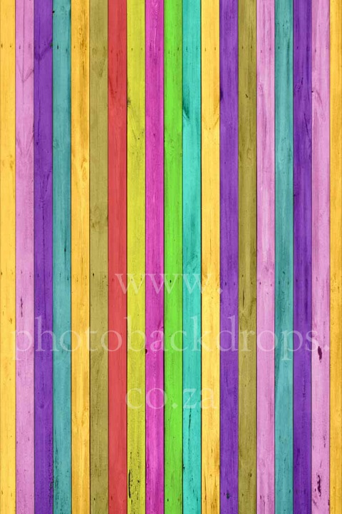 Candy Stripes Wall & Floor Photo Backdrop